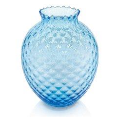 意大利IVV进口手工玻璃花瓶创意透明水晶插花瓶客厅玄关摆件饰品图片