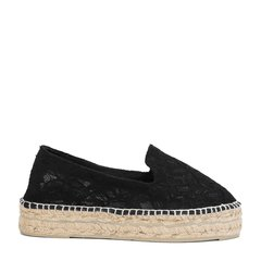 MANEBI黑色女士平跟鞋图片
