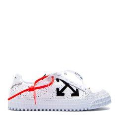 【19年春夏】OFF-WHITE/OFF-WHITE  男士双色可选箭头平底皮革透气休闲运动鞋板鞋OMIA112-R19B27001图片