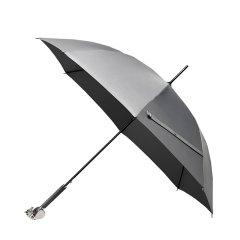 X+QArt/稀奇艺术灰色长柄不伞纯手工晴雨伞精美礼物图片