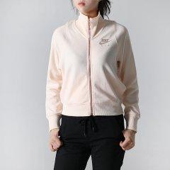 Nike耐克女装上衣2018秋季新款跑步运动服时尚立领外套夹克932056-010图片