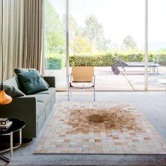 DOWNESSA天空之城 设计师原创毛皮拼接地毯图片