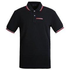 PRADA/普拉达 男士短POLO 翻领纯棉男士短袖POLO衫(一周内安排发货)图片
