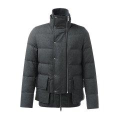 【18秋冬】Moncler/蒙克莱 男士羽绒服 尼龙立领深灰色男士羽绒服图片