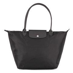 Longchamp/珑骧 女士尼龙折叠包/ 手提包/ 单肩包/购物袋  1899大号加厚版图片
