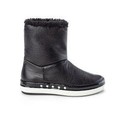 Ruco Line/Ruco Line 秋冬 绵羊皮革毛绒舒适柔软女士雪地靴图片