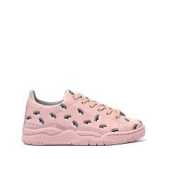 【可用劵】CHIARAFERRAGNI/琪亚拉·法拉格尼俏眼睛logo女士休闲运动鞋CF1700图片