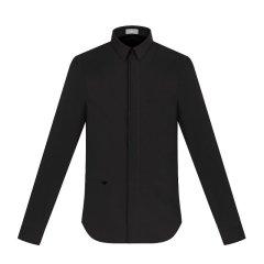Dior 迪奥 男装 服装 纯色棉质蜜蜂刺绣商务休闲长袖衬衣 男士长袖衬衫图片