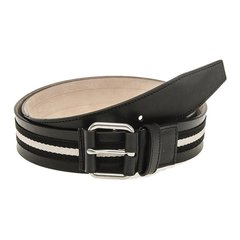 BALLY/巴利男士Saffiano皮革拼色皮带腰带TIANIS-40图片
