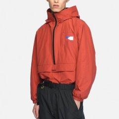 KKtP 夹克 男士 香港潮牌 男款SMOCK 带帽外套 黑色土黄色橘红色蓝色 夹克外套图片