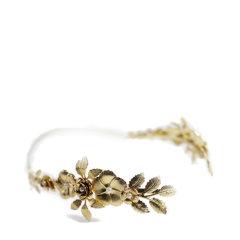 【Designer Jewelry】Avigail Adam女式Blooming系列繁花女神珍珠皇冠发箍Blooming Floral Crown Goddess Headband图片