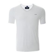 ARMANIJEANS/阿玛尼牛仔 男士T恤-纯棉纯色V领-男士短袖T恤 8N6D026JPFZ图片