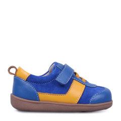 Eurobimbi欧洲宝贝弹力绳粘袢男童皮鞋适合18个月-3.5岁EB1601P036图片