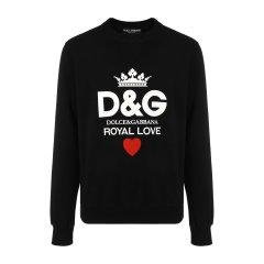 【18秋冬新款】Dolce&Gabbana/杜嘉班纳男卫衣-男士面料:100棉运动服图片