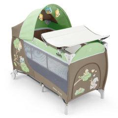 CAM/贝贝亲 意大利原装进口婴儿床可折叠旅行床欧式便携式多功能进口婴儿床睡眠游戏兼顾L113图片