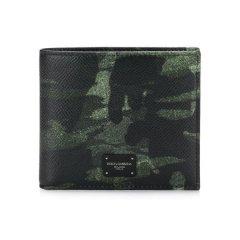 杜嘉班纳/Dolce&Gabbana 18年秋冬 男士 logo 迷彩 黑色 钱包 BP1321#AV691#HH046图片