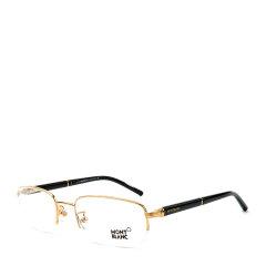 MontBlanc/万宝龙 睿智进取议员风范半框系列定制钢笔镜腿款正装商务行政版绅士光学眼镜图片