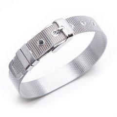 【DesignerJewelry】Merci&Merde/Merci&Merde细单层表带手环图片
