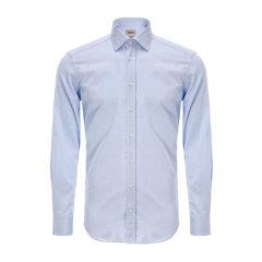 ARMANI COLLEZIONI/阿玛尼卡尔兹男士长袖衬衫-男士衬衫棉图片