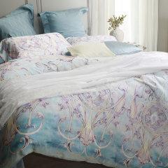 YOLANNA/意•欧恋纳 床上用品专柜同款天丝印花四件套YTS5163-4图片