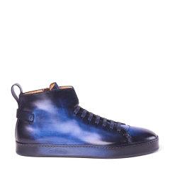 SANTONI/圣东尼 男士牛皮系带休闲鞋 MBCI20279NASVSDY图片