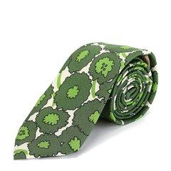 BURBERRY/博柏利  男士绿色印花领带 配饰