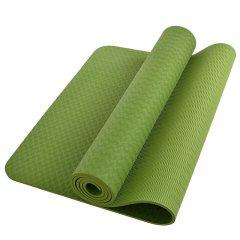 力动男士女士瑜伽垫TPE材质6mm健身垫防滑仰卧起坐垫运动垫地垫初学者高品质Y1图片