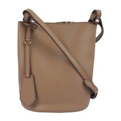 【包税】BURBERRY/博柏利  女士格纹拼皮革单肩包斜挎包水桶包4057153图片
