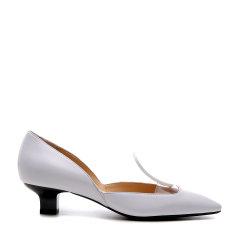 BENATIVE/本那18春夏新品通勤OL系列女士中跟鞋 简约小跟方头单鞋BN01813039图片