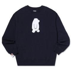 SPAO/SPAO  时尚潮流  裸熊印花 女士卫衣图片