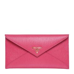 PRADA/普拉达 女士牛皮信封包钱包钱夹 1MF175 2EZZ图片