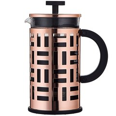 bodum波顿法压壶  艾琳系列进口玻璃法压壶 不锈钢耐热虑压茶壶大容量1000ml图片