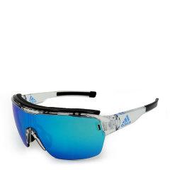 adidas/阿迪达斯 运动功能镜 男女款太阳镜 骑行登山户外蓝色镜面眼镜 AD05/75图片