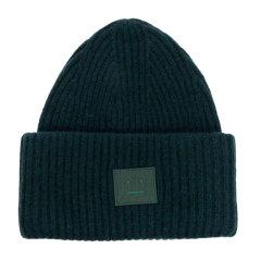 【包税】ACNE STUDIOS 艾克妮 男士羊毛时尚混合针织帽 绿色 均码图片