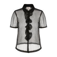 ARMANI COLLEZIONI/阿玛尼卡尔兹女士短袖衬衫-女士休闲衬衫图片