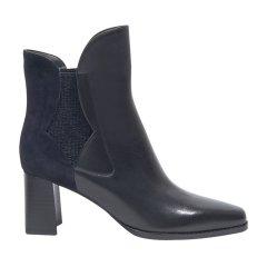 73hours/73hours Janis Lyn 高跟短靴粗跟方根靴子切尔西靴女图片