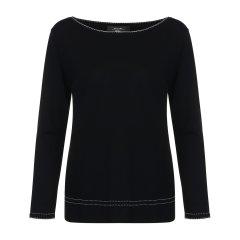 【精选】 MAXMARA WEEKEND  灰色 女士针织衫/毛衣 LIMOSA 黑色 M图片