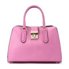 【Designer Bags】FURLA/芙拉牛皮革牛剖层革材质金属锁扣装饰女士手提单肩斜挎包图片