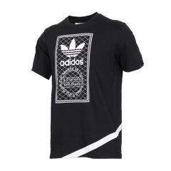 adidas/阿迪达斯 三叶草 男 吴亦凡同款印花经典透气圆领短袖T恤 BP8988/CW5173/CW5172/CW2360/CW5181图片