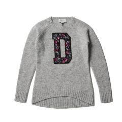 DIESEL KIDS 迪赛 女童套头衫 儿童针织衫/毛衣 2174I002图片