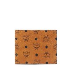 MCM/MCM女士Visetos涂层帆布短款钱包MXS 8SVI35图片