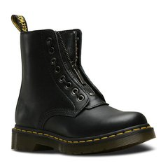 【18秋冬新款】DR.MARTENS/DR.MARTENS 1460 女士英伦可拆卸拉链系带8孔中筒高帮靴皮鞋马丁靴 24330600图片