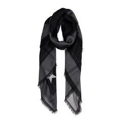GIVENCHY/纪梵希 18秋冬 男女同款黑色纯棉动物图案丝巾围巾图片