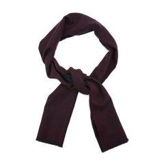 GUCCI/古驰纯羊毛材质经典logo图案编织男士围巾图片