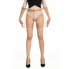 GATTA/GATTA BODY PLUS SIZE 15D夏季薄款加大码丝袜女加宽高弹进口连裤袜图片