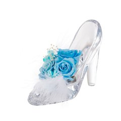 JoyFlower520礼物进口永生花礼盒永生花水晶鞋摆件礼物图片