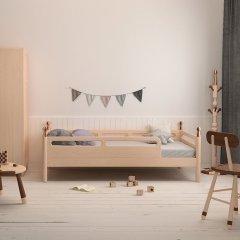 hamuoo/哈木的房间 实木儿童房家具带护栏儿童床(预定90天内发货)图片