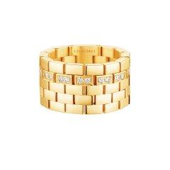 Chaumet/尚美女士黄金色Boléro 系列戒指083909图片