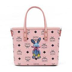 MCM/MCM 小兔子 Visetos系列 女士PVC顶部拉链迷你购物袋 MWP 7SXL45图片