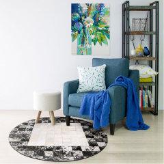 DOWNESSA邂逅萨凡纳 设计师原创毛皮拼接地毯图片